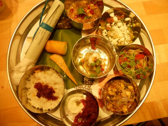 Bengali Festive Food Spread