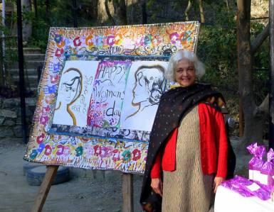 Ms. Chinny Swamy, Founder & CEO of Purkal Stree Shakti Samiti