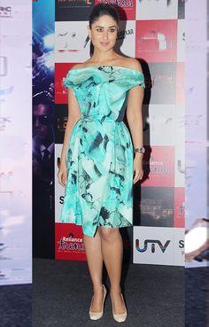 Kareena Kapoor in an Aquamarine summer dress