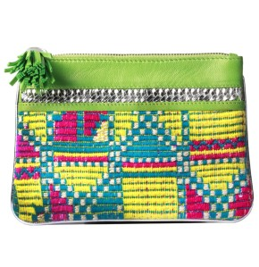 kilim leather pouch- ikka dukka