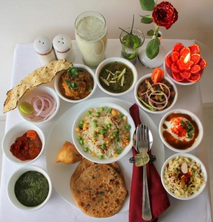 A Punjabi Festive Spread