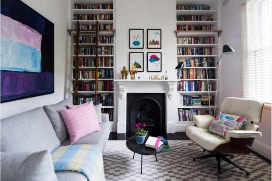 Library-backgroud-home-decor-houzz