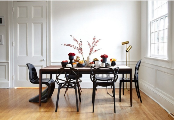 old-table-mod-chairs-houzz