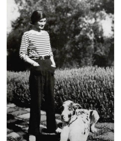 Marinière et pantalon en 1928