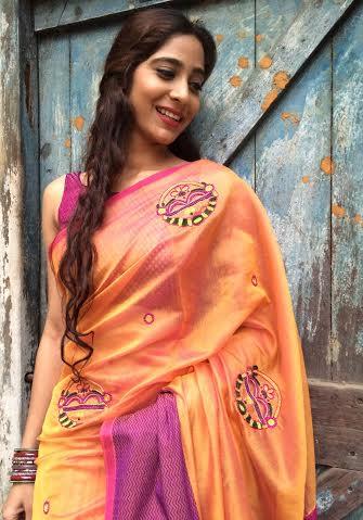 post wedding saree