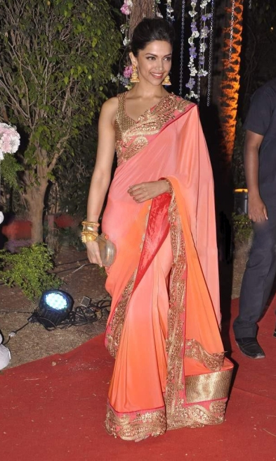 Deepika Padukone full saree