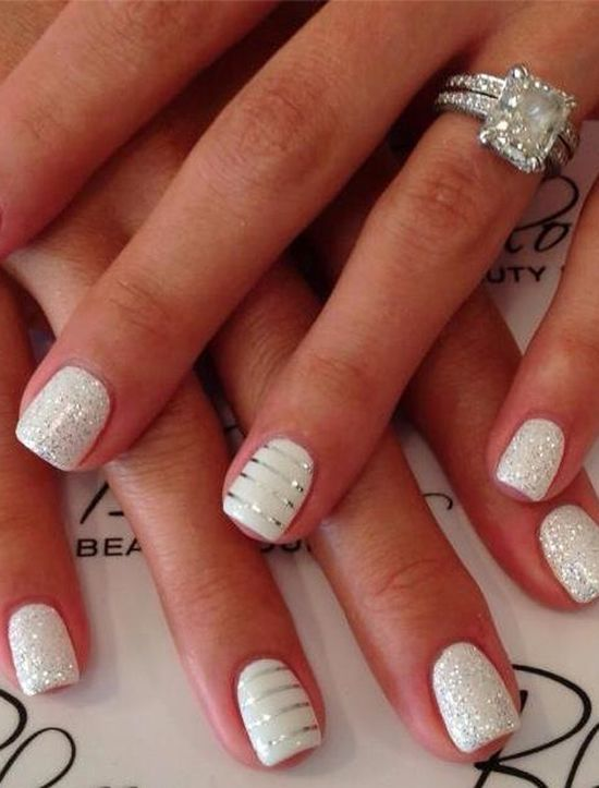 White line nail designs gallery nail art and nail design ideas 7 dot line nail art designs to flaunt now polkacoffee shimmer white lines nail art pinterest prinsesfo Gallery