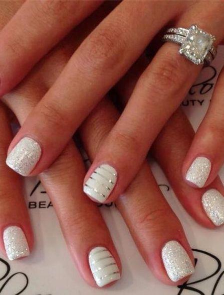 shimmer-white-lines-nail-art-pinterest