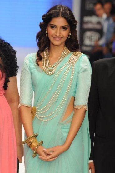 Sonam Kapoor Flaunting her Vintage Bangles