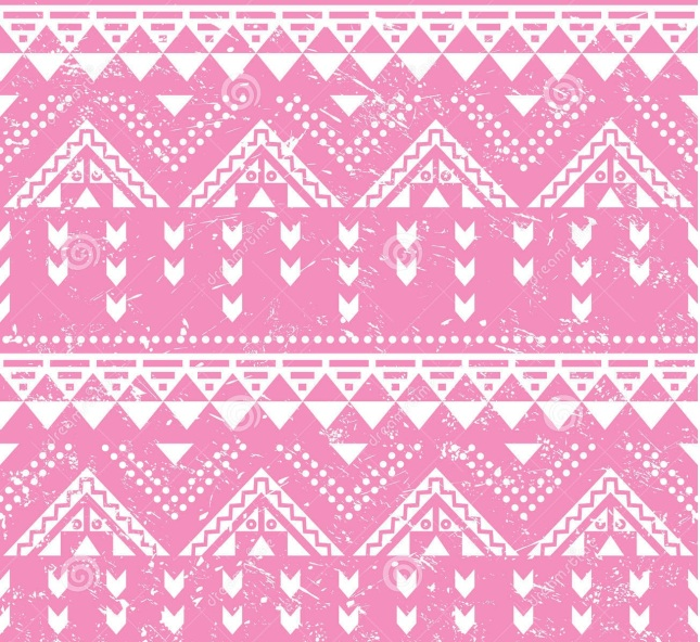 tribal-pattern-pink-aztec-print-old-grunge-vector-seamless-retro-ornament-vintage-ethnic-white-background-39011552