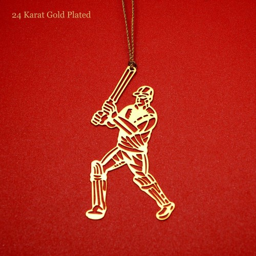 gold-plated-cricketer-rakhi-bookmark