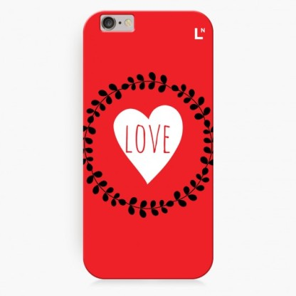 Love Flowers iPhone 6 Cover-LetterNote