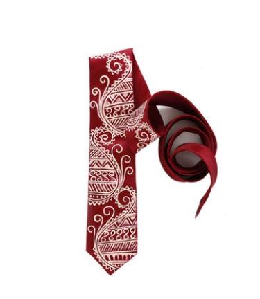 neck-tie-silk-tie-classy-paisley- Rangrage