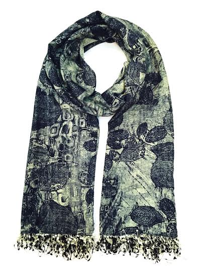 fossil blue stole