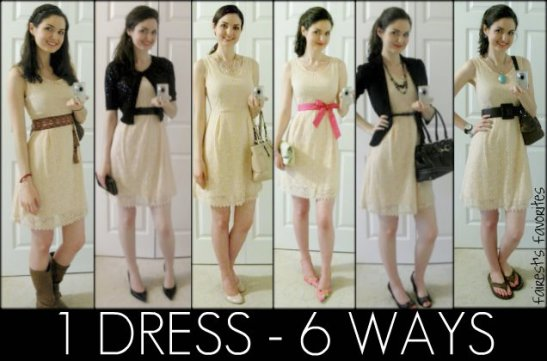 one dress multiple ways