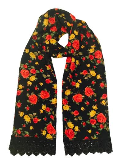 red rose stole