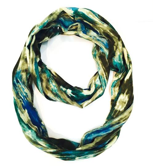 seychelles blue Snood